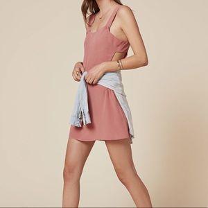 Reformation Pink Bellamy Dress